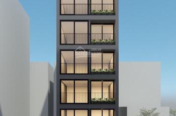 Bán tòa nhà 7 tầng, diện tích 106m2, mặt tiền 6m, khu Tô Ngọc Vân, Tây Hồ, Hà Nội: 0981222026