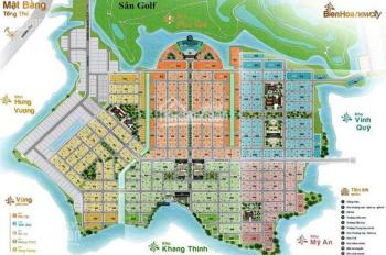 Bán đất nền Biên Hòa New City, nằm trong sân golf Long Thành, LH: 0902537816