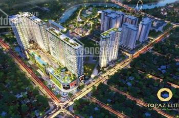 Cần bán nhanh căn hộ Topaz Elite cuối năm 2019 nhận nhà. Diện tích 78,88m2 giá 2,186 tỷ (Full phí)