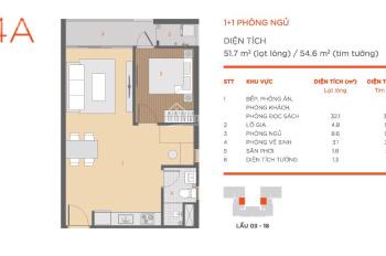 Cho thuê căn hộ 1PN dự án Hausneo Q9 view hồ bơi cực đẹp chỉ 6tr5/tháng. Thuê 1 năm hoàn 1 tháng