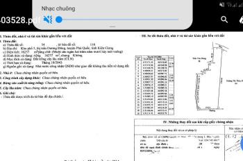 CHÍNH CHỦ BÁN ĐẤT VÀ NHÀ KHU PHỐ 5, ĐƯỜNG ĐOÀN THỊ ĐIỂM, DƯƠNG ĐÔNG, PHÚ QUỐC