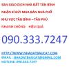 Bán nhà MT đường số 3, KDC Vĩnh Lộc, BHH B, BT, DT 13x20m, giá 26.6 tỷ. LH 090.333.7247