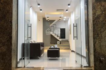 Cho Thuê nhà Nguyên căn Trệt, 3 lầu, 4x25m, Nguyễn Văn Phức, Tân ĐỊnh, Q1.