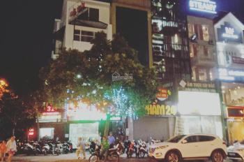 Cho thuê nhà liền kề lô hai đầu ngã tư Nguyễn Văn Huyên Hoàng Quốc Việt diện tích 90m2 xây 4 tầng,