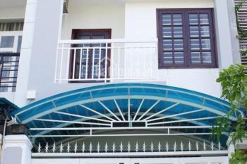 Cho thuê nhà mặt phố đường 24B, P. An Phú: 4x20m, trệt, 3 lầu, 4PN. Giá 28 tr/th, Tín 0983960579