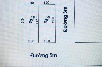 Bán 2 lô đất Kim Chung, Đông Anh, đường 5m ngõ thông. 0977191861