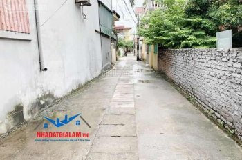 Bán đất tổ 11, phố Ngọc Trì, Thạch Bàn, Long Biên. DT 48m2, mặt tiền 4,8m, đường 2,5m