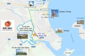 Bán đất đường Số 1, khu đô thị An Bình Tân, Nha Trang, đường rộng 40m, có sổ hồng