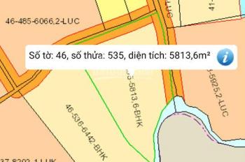 Khách cần tiền gấp, bán lô đất 5100m2, khu vực Xã Lộ 25. Giá rẻ nhất khu vực chỉ 750tr/sào