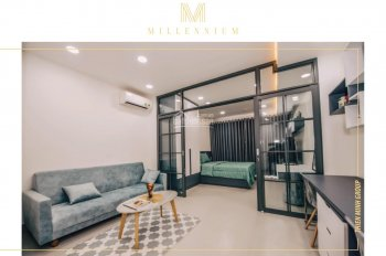 Office Millennium Q4, tặng 12tr, CK 8%, vĩnh viễn, đầu tư cho thuê cực tốt, TT 10%/th, 0907172717