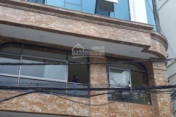 Nhà mặt phố 8 tầng và 1 hầm DT 165m2/sàn ngay 126 Hoàng Ngân cần cho thuê tầng 1.2 và tầng 5 làm KD