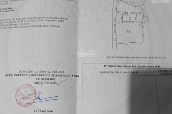 Bán lô đất 51.3m2, sổ đỏ chính chủ tại xóm Thượng, Uy Nỗ, Đông Anh, mặt đường vào trung tâm GDTX