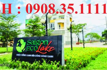 Bán nhận ký gửi đất Sài Gòn Eco Lake, liên hệ ngay: 0908.35.1111