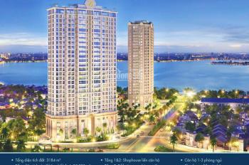 Shophouse mặt Hồ Tây chỉ 7,8 tỷ, 100m2, kênh tốt cho khách đầu tư (0967713188)