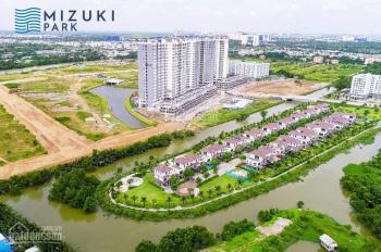 Cần bán căn Mizuki 72m2, MP1, ban công hướng Nam, hồ bơi + kênh đào chênh lệch 200 triệu