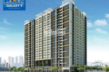 Cần tiền gấp bán căn hộ Galaxy 9, 3PN, 2WC, full nội thất, giá 4.4tỷ TL, LH: 0939.434.800
