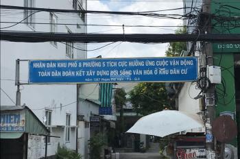 Cần bán nhà hẻm xe hơi Phạm Thế Hiển, P. 5, quận 8. DT: 50m2