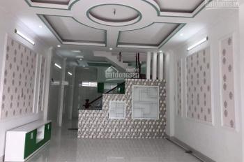 Nhà mới hoàn thiện trệt lầu hẻm xe hơi, Lộ Ngân Hàng, 85m2, giá 3 tỷ 950 triệu, LH 0916803882