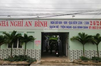 Bán gấp nhà nghỉ An Bình, mặt tiền DX 09, Phú Mỹ