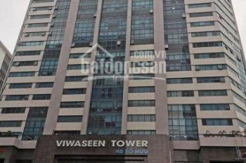 Cho thuê văn phòng tòa nhà Viwaseen Tower, Tố Hữu DT 50m2 - 100m2 - 200m2 - 500m2. LH 0902 255 100