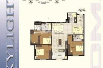 Bán chung cư Sky Light 125D Minh Khai, căn hộ 125D giá 27tr/m2. 0937026888