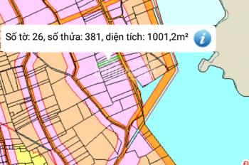 Bán lô đất siêu đẹp tại Hồ Gia Măng, 1000m2 đất mặt tiền đường Tam Hiệp, LH: 0908004529