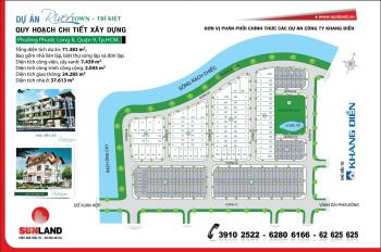 Đất nền Trí Kiệt Khang Điền, 6x24m, đường 14m, hướng TB, giá 39tr/m2 (bao VAT), 0949766228 Mr Hải