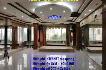 DT 120m2 sàn văn phòng đẹp tại shophouse Gamuda chỉ 12tr/tháng