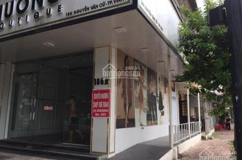 Cho thuê mặt bằng kinh doanh mặt đường Nguyễn Văn Cừ, tp Vinh