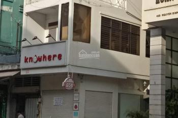 Cho thuê nhà mới góc 2 mặt tiền 31 Trần Quang Diệu hẻm hông 4m gần Lê Văn Sỹ, Q 3