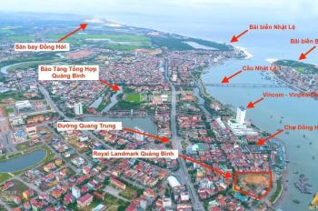 Dự án Royal Landmark shophouse Đồng Hới, 2 mặt tiền Hương Giang và Thanh Niên. LH 0902624251