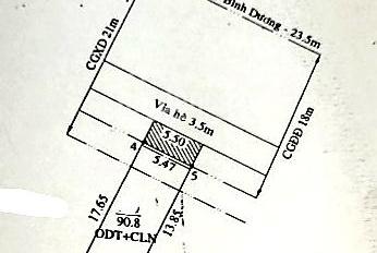Nhà trệt MT Đại Lộ Bình Dương, ngay ngã 4 Địa Chất, Phú Lợi, Thủ Dầu Một. DT 90,8m2, giá 5,5 tỷ