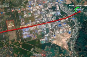 Đất sân bay Long Thành, mặt tiền đường 25C (Nguyễn Ái Quốc) lộ giới 100m, 880 triệu/nền, 0938981434