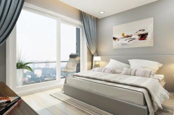 CHCC The Gold View - Q4, 50m2, 1PN, lầu cao, full nội thất, giá 16 triệu/tháng. LH 0901414505