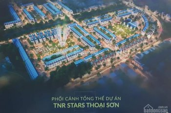 Đất nền dự án khu đô thị TNR Stars Thoại Sơn