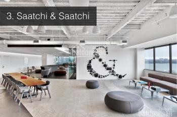 Chính chủ cho thuê căn văn phòng 105m2, đã hoàn thiện nội thất The Sun Avenue 25tr/tháng 0934946069