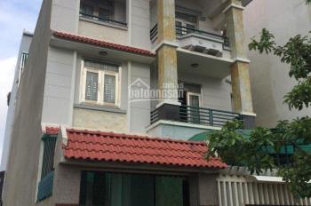 Cho thuê nhà mặt phố đường 34, P. An Phú: 8x20m, hầm 2 lầu, 4PN, giá 40 tr/th. Tín 0983960579