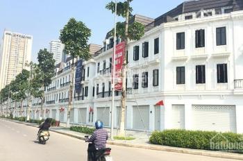 Cho thuê shophouse mặt đường 60m dự án Embasy Garden 124m2, giá 90tr/tháng, LH 0962.522.094