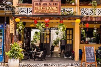 Cho thuê quán cafe đường Nguyễn Phúc Chu, khu phố đi bộ Sông Hoài, để lại nội thất, bàn ghế