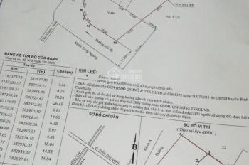 Bán đất Lê Minh Xuân, Bình Chánh góc 2 MT DT 2375m2 có 300m2 thổ cư, giá 13tỷ