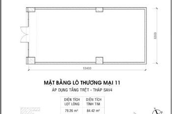 Bán hoặc cho thuê Shophouse The Sun Avenue, Góc Mai Chí Thọ và Đồng Văn Cống 84.42m2. Giá: 15 tỷ