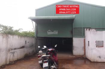 Cho thuê 2 nhà xưởng nằm Lê Văn Khương, Quận 12. DT: 250m2, 1200m2, LH: 0944.977.229