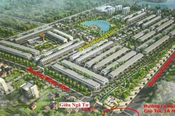 Cần bán nền biệt thự view hồ dự án đất nền Kosy Bắc Giang, giá chỉ 9 tr/m2. LH 0944026026