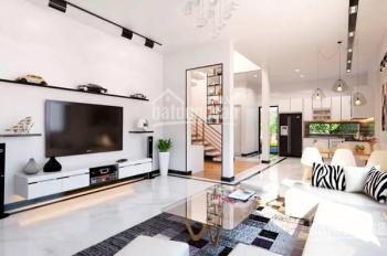 Bán rẻ nhà căn góc 2 mặt tiền HXH Phan Văn Trị, 4,2x14m; trệt 5 lầu đẹp lung linh, HĐ thuê 45tr