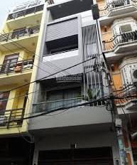 Cho thuê nhà mặt tiền đường D2 Phường 25 Quận Bình Thạnh, 3 lầu.