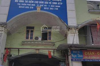 Bán ki ốt 2.5 tầng ngay cổng chợ trung tâm thị trấn Phố Mới, Quế Võ, Bắc Ninh