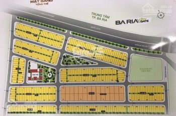 Đất nền Bà Rịa City Gate giá tốt nền 6x20m 120m2. LH 0908240468