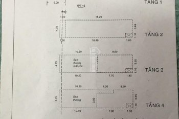 Hẻm nội bộ 10m đường Bàu Cát Đôi 4.75x20.2m đúc 4 tấm, giá 13 tỷ TL, ngay chợ Bà Hoa