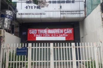 Cho thuê nhà MT Phan Văn Trị P14_ 5.1*28_1 lầu_ phù hợp làm quán ăn