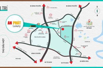 Nhà phố An Phát Luxury - Tân Phước Khánh, CĐT cam kết thuê lại 6 triệu/tháng